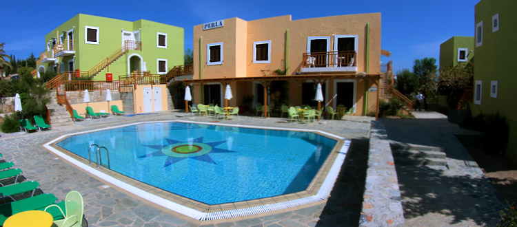 Perla Apartments, Agia Pelagia, Heraklion, Crete, Greece